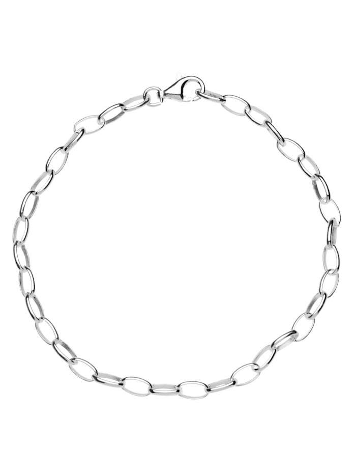 OSTSEE-SCHMUCK Armband - Charmsarmband - Silber 925/000 - ,, silber