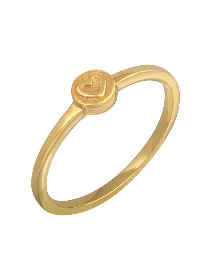 Ring 925/- Sterling Silber ohne Stein rotvergoldet