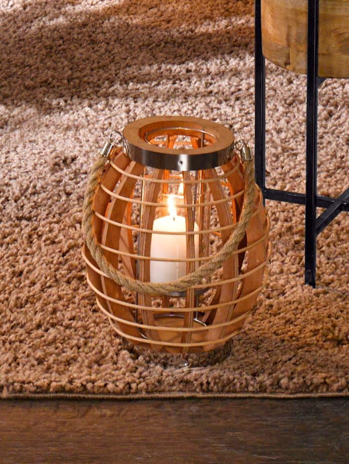 Drevený lampáš