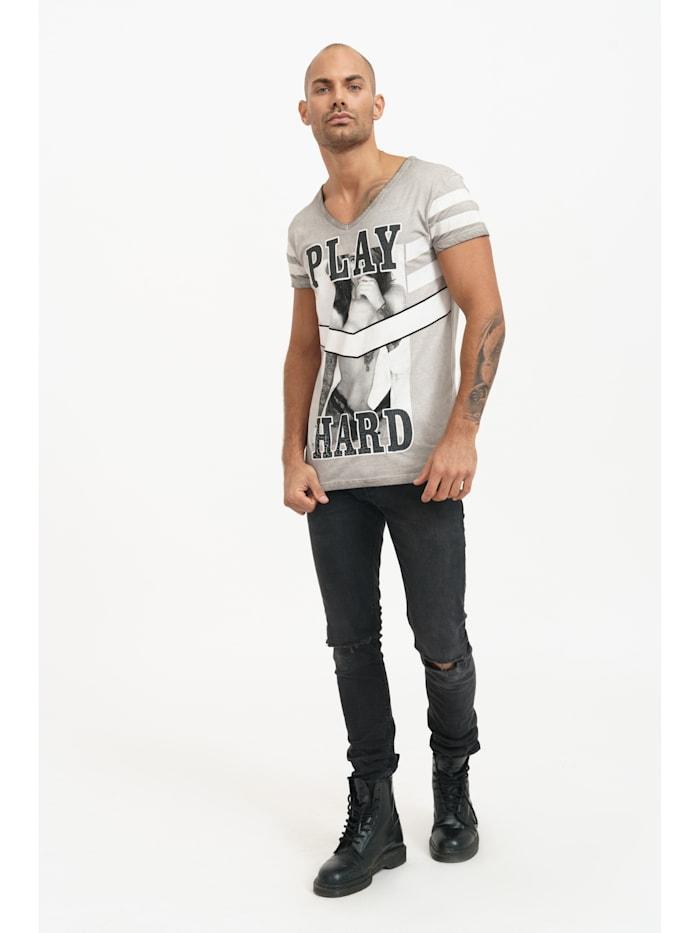 T-Shirt Ethan mit coolem Frontprint