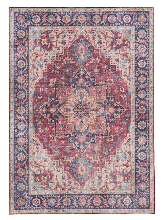 Pergamon Luxus Vintage Designer Teppich Primus Orient, Beige