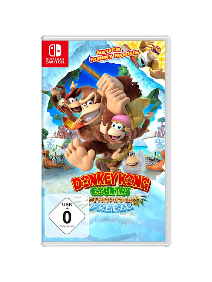 Spiel Donkey Kong Country: Tropical Freeze