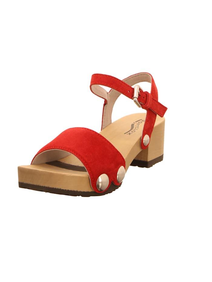 Softclox Sandalen/Sandaletten, rot