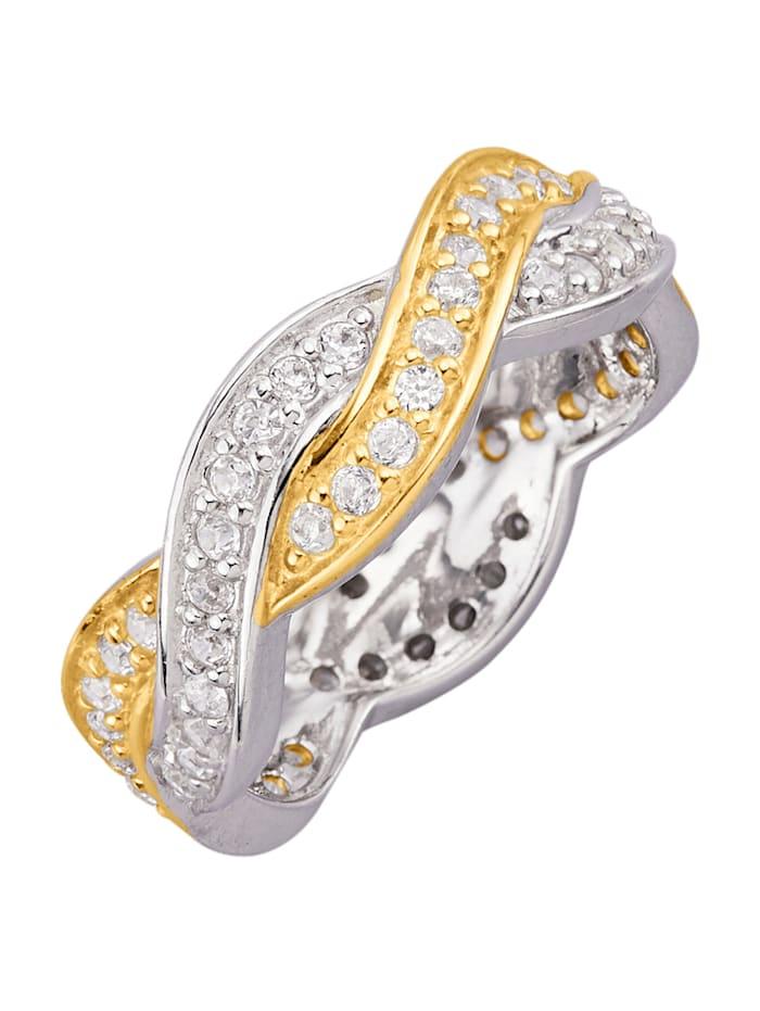 Ring i silver 925, Silverfärgad