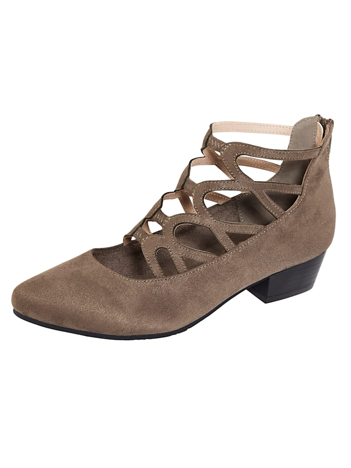Liva Loop Pump in elegant design, Taupe