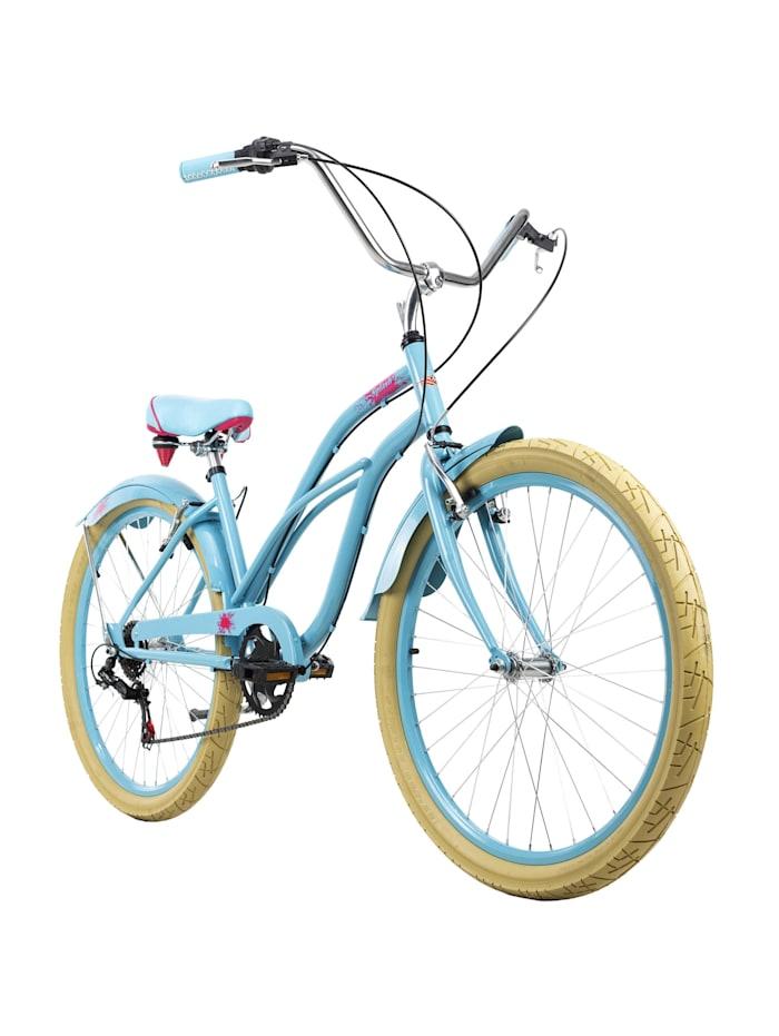 KS Cycling Beachcruiser 26 Zoll Splash 6 Gänge, blau