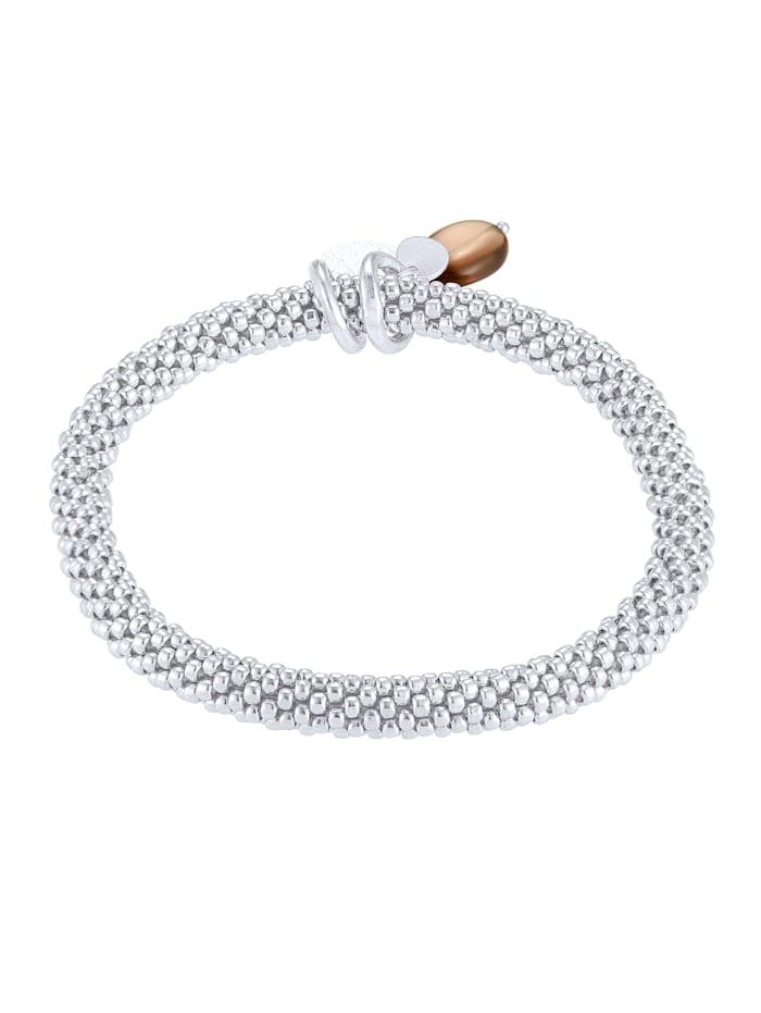 A Beautiful Story Armband, Silberfarben