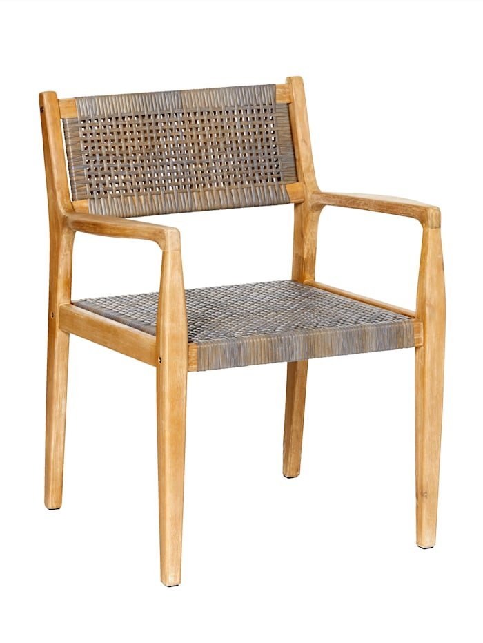 IMPRESSIONEN living Outdoor-Stuhl, natur/grau