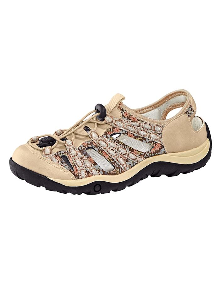 Priority Chaussures basses de style randonnée, Beige