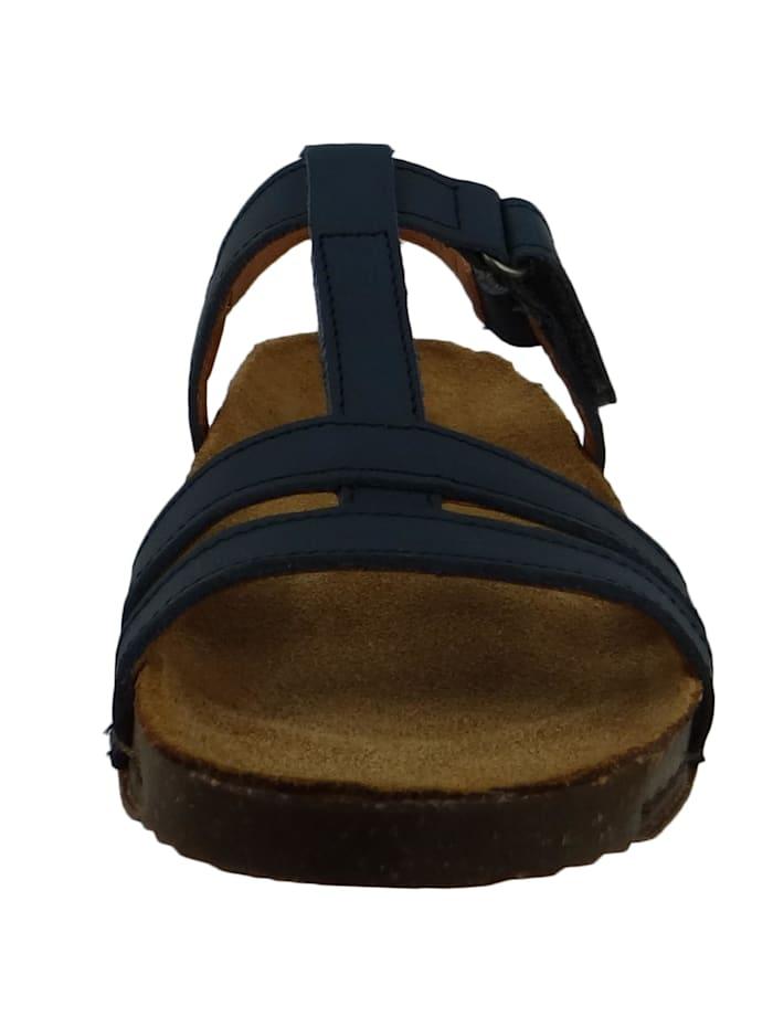 *art 0946 I Breathe Damen Leder Sandale Jeans Blau, Jeans