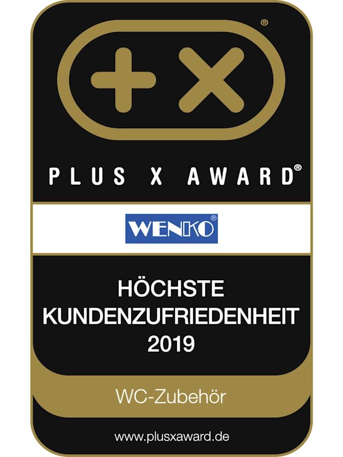 Kosmetik Treteimer Retoro Weiß Edelstahl, 3 Liter, Edelstahl rostfrei