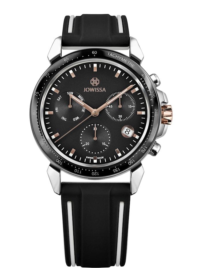 Jowissa Quarzuhr LeWy 9 Swiss Men's Watch, schwarz