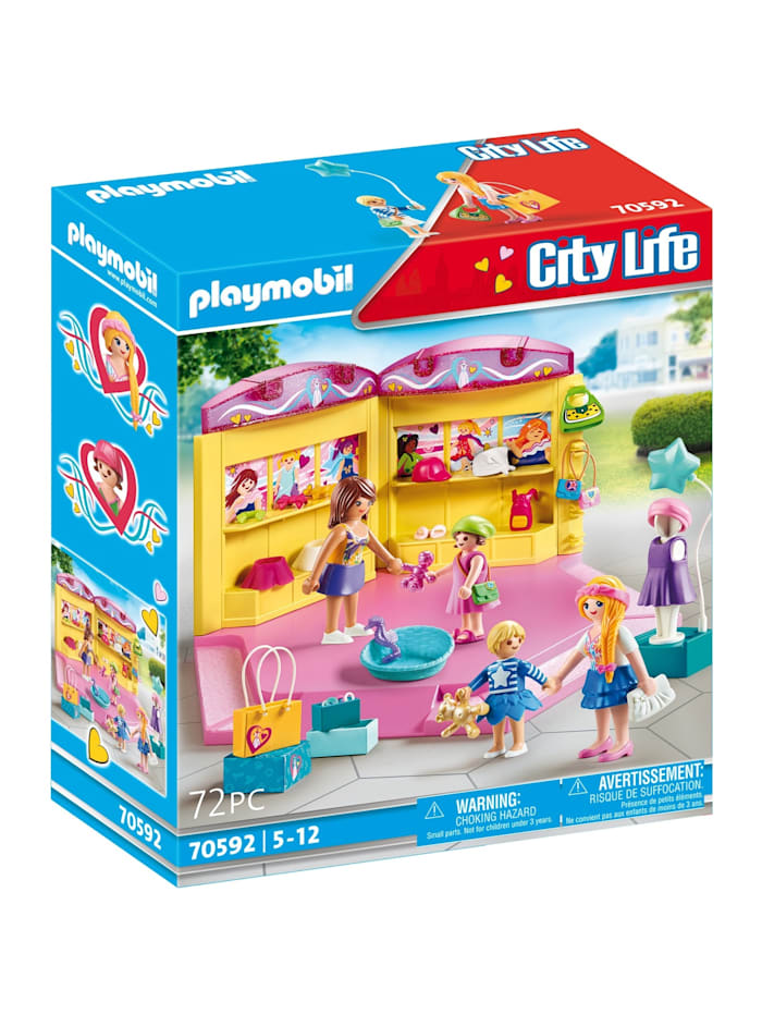 PLAYMOBIL Konstruktionsspielzeug Kids Fashion Store, Bunt