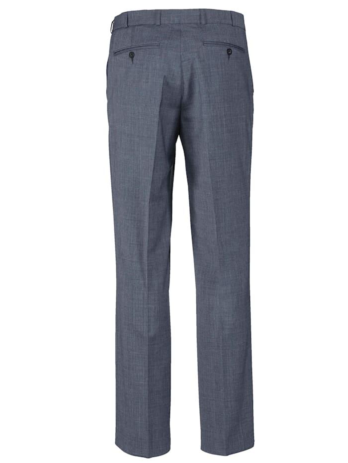 Wollen broek met 7 cm meer bandwijdte
