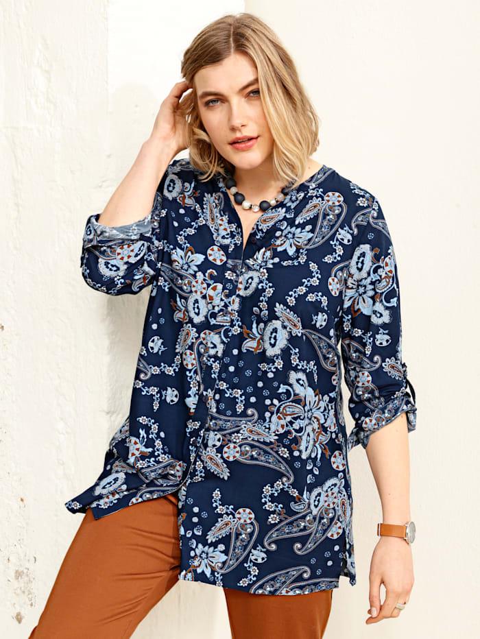 Bluse im Paisleydesign