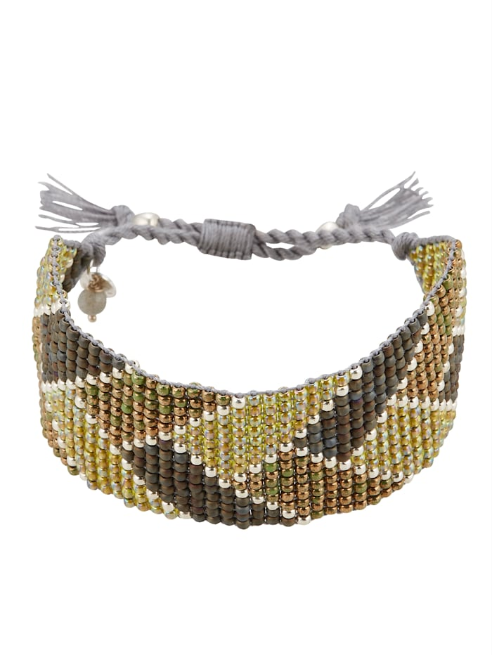 A Beautiful Story Armband, Grün