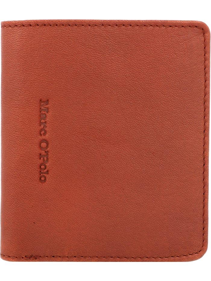Marc O'Polo Taro Geldbörse Leder 9 cm, essential cognac