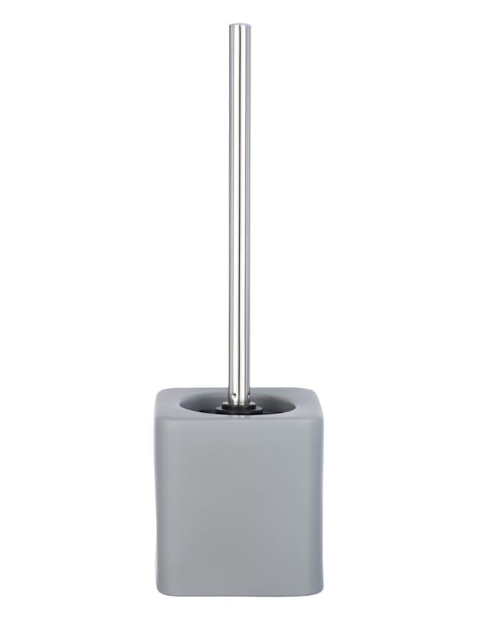 Wenko WC-Garnitur Hexa Grau Keramik, Grau