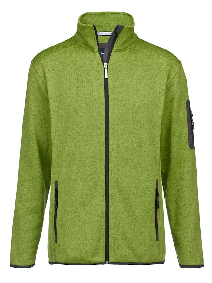 BABISTA Vest met zachte binnenkant, Groen