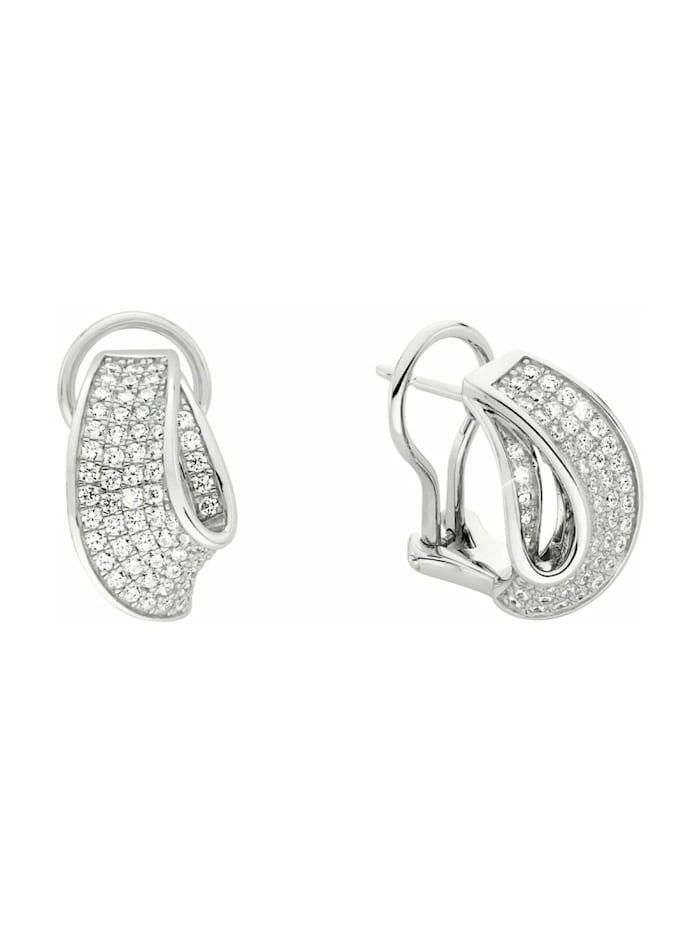 JOOP! Ohrhänger für Damen, Sterling Silber 925, Silber