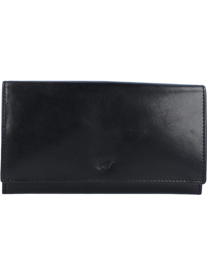 Braun Büffel Arezzo Geldbörse Leder 18 cm, schwarz