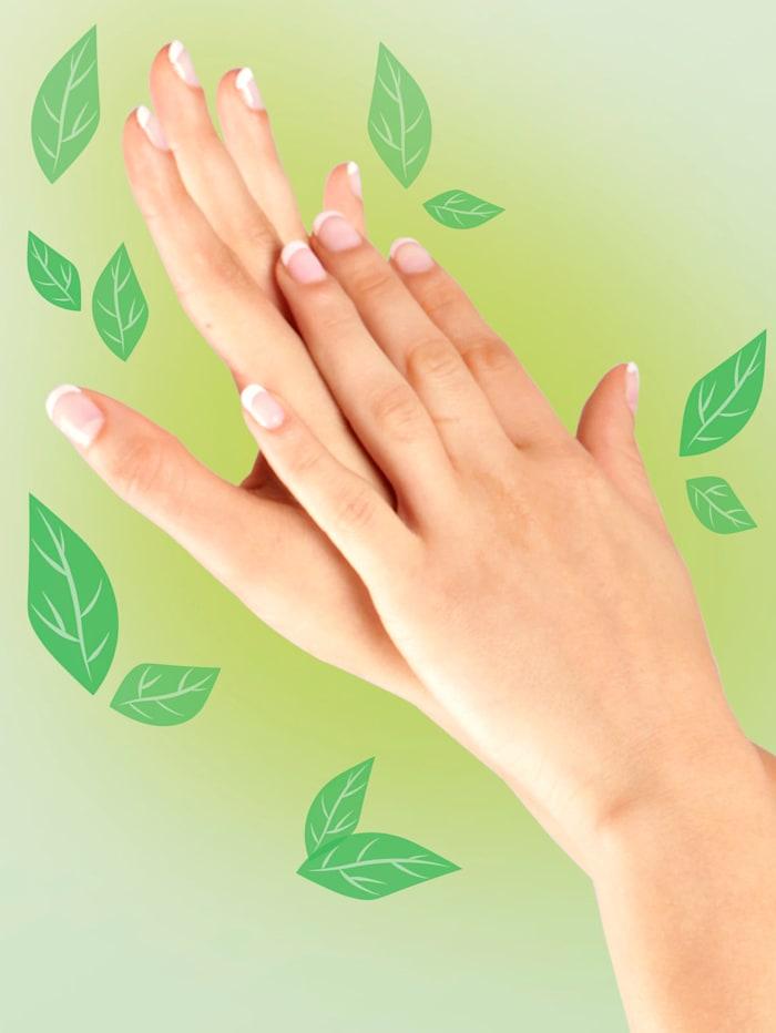 Tørrende spray for hendene