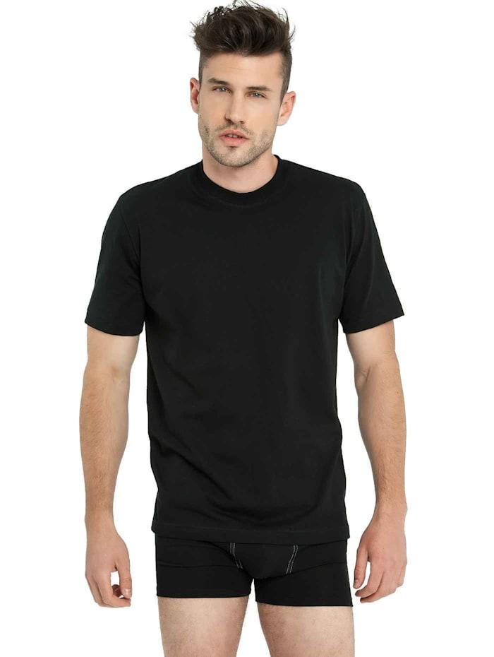 Rundhals-Shirt im Doppelpack