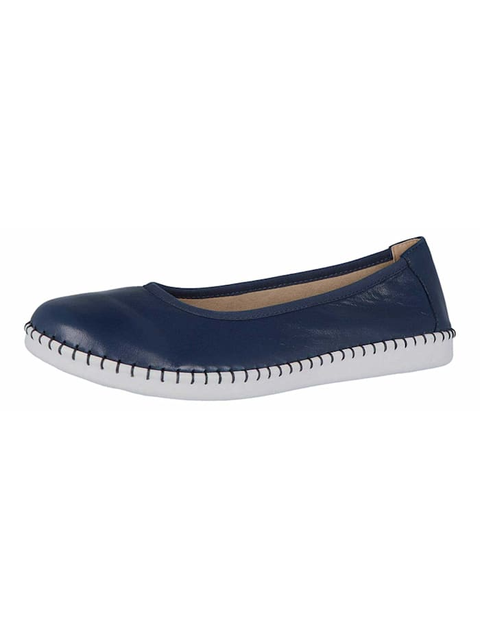 Caprice Ballerinas, blau