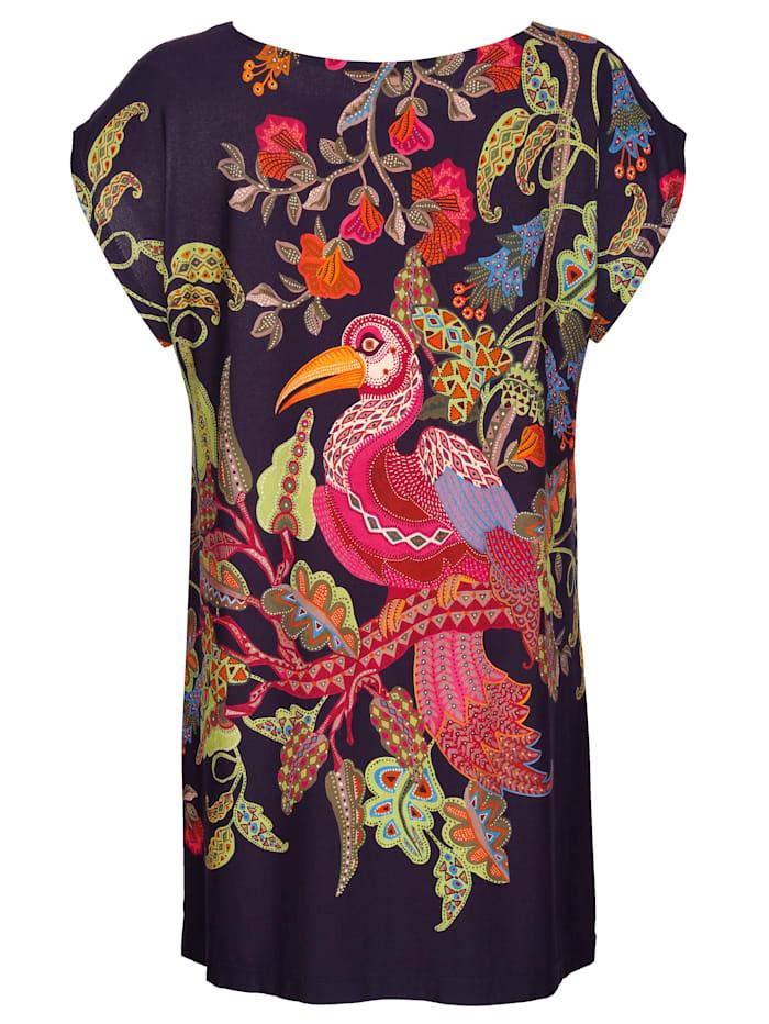 Shirt mit Vogelmotiv