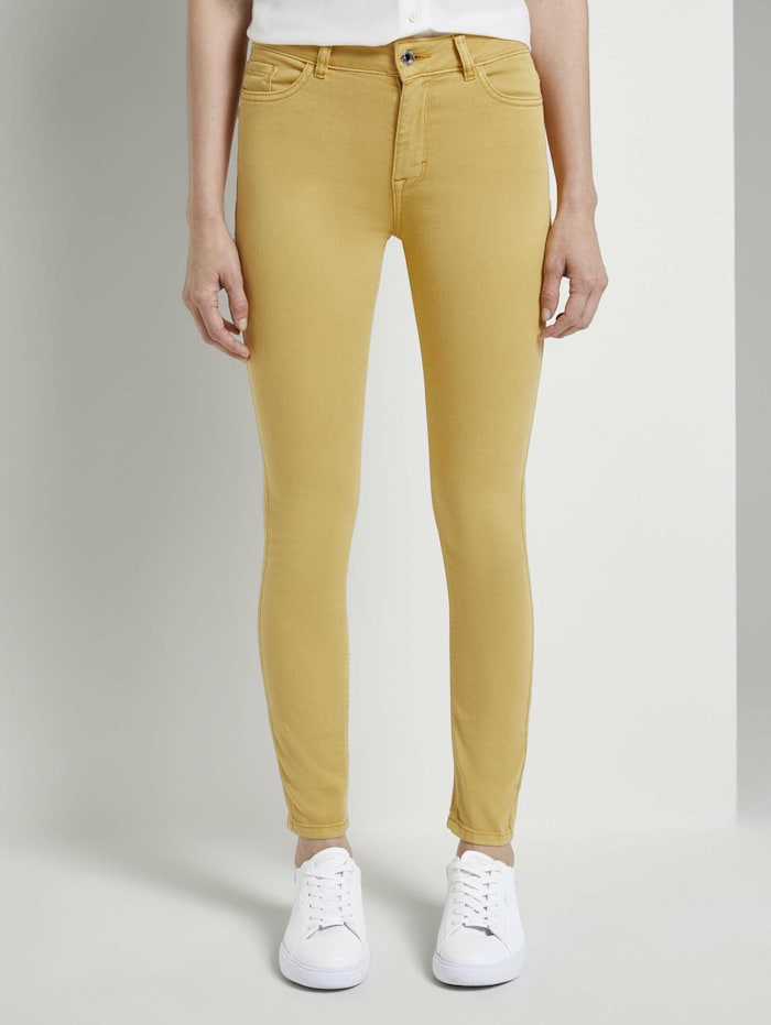 Tom Tailor mine to five Kate Skinny Jeans in Ankle-Länge, Golden Corn