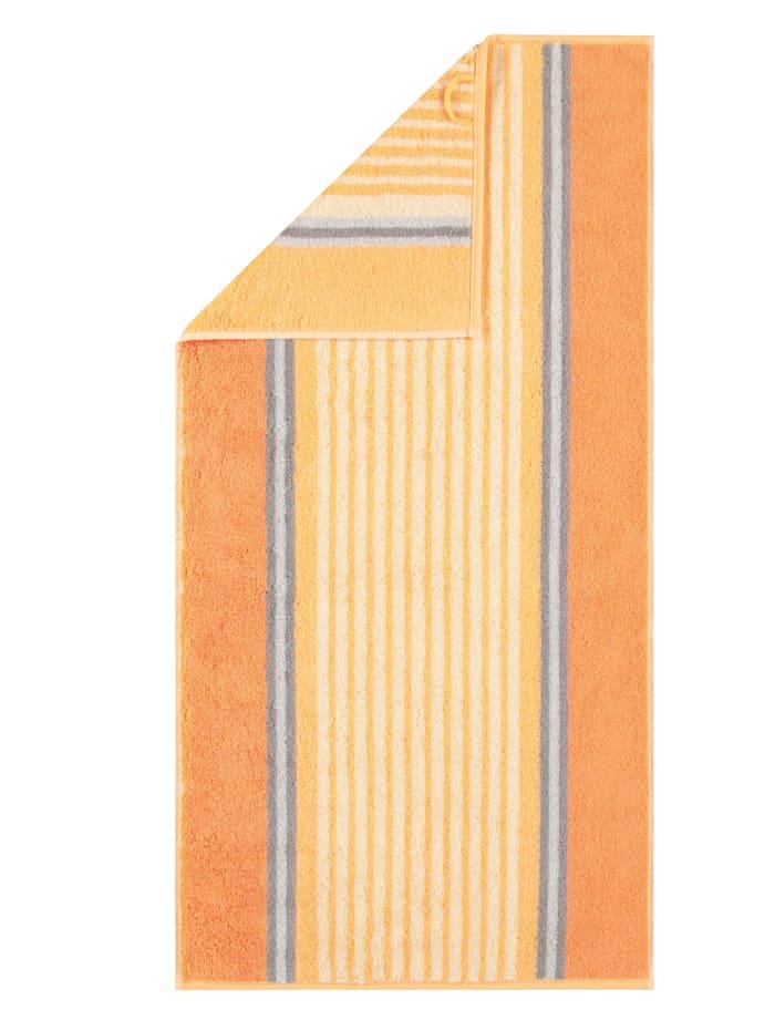 Cawö Frottierserie Florentine Streifen, gelb