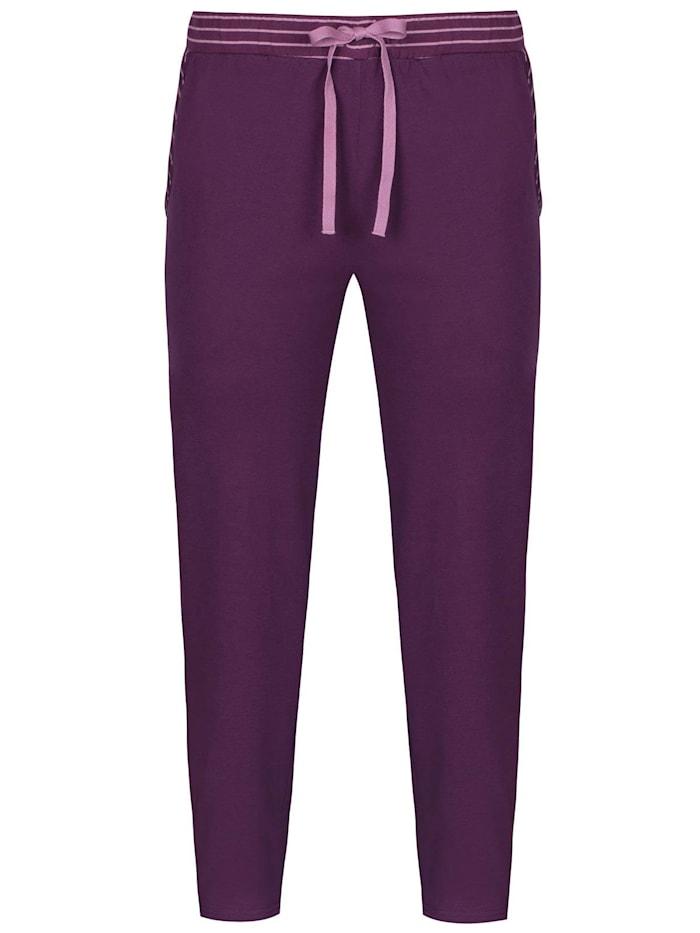sassa Damen Hose lang Lovely Winter, purple