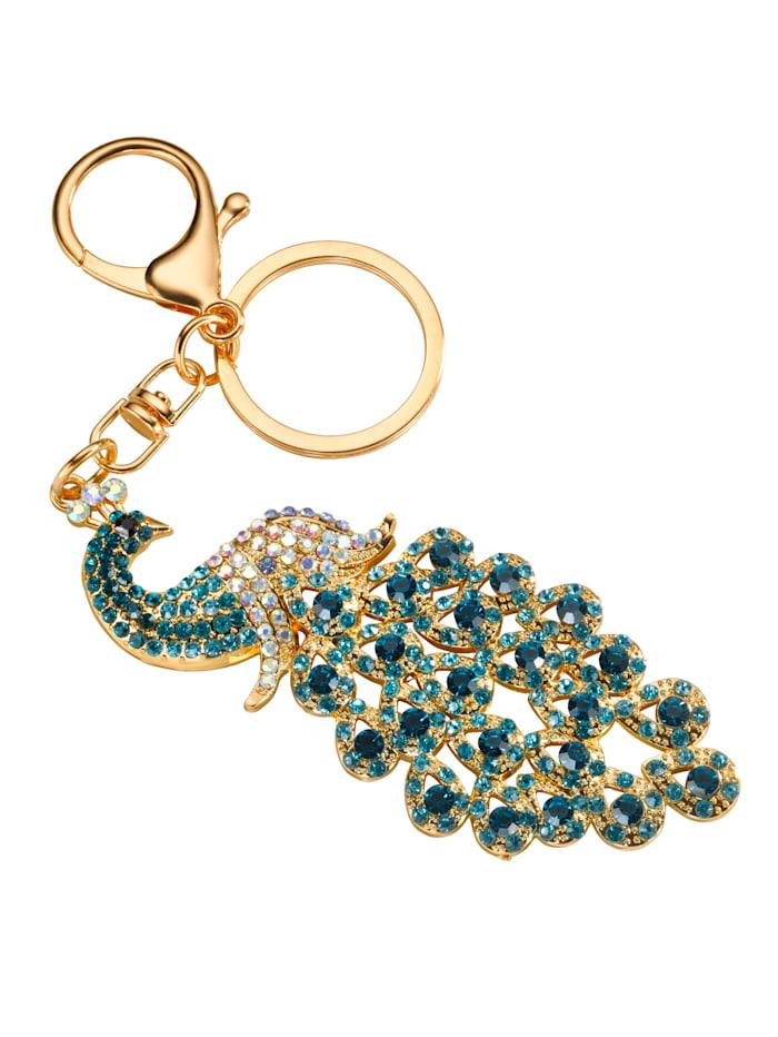 KLiNGEL Schlüsselanhänger, Blau