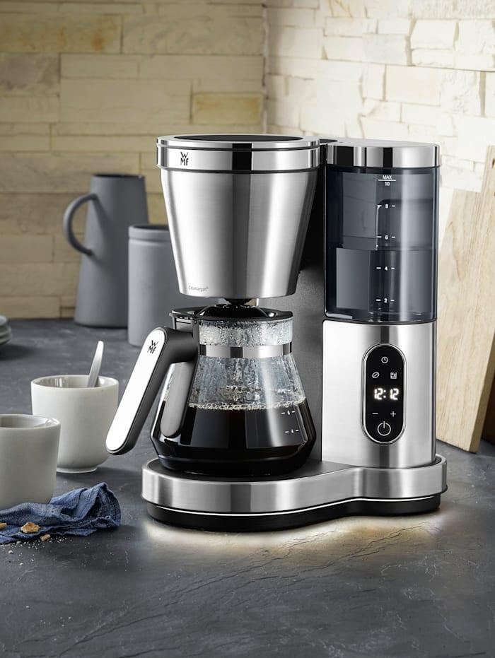 WMF WMF kaffebryggare med glaskanna – Lumero, silverfärgad