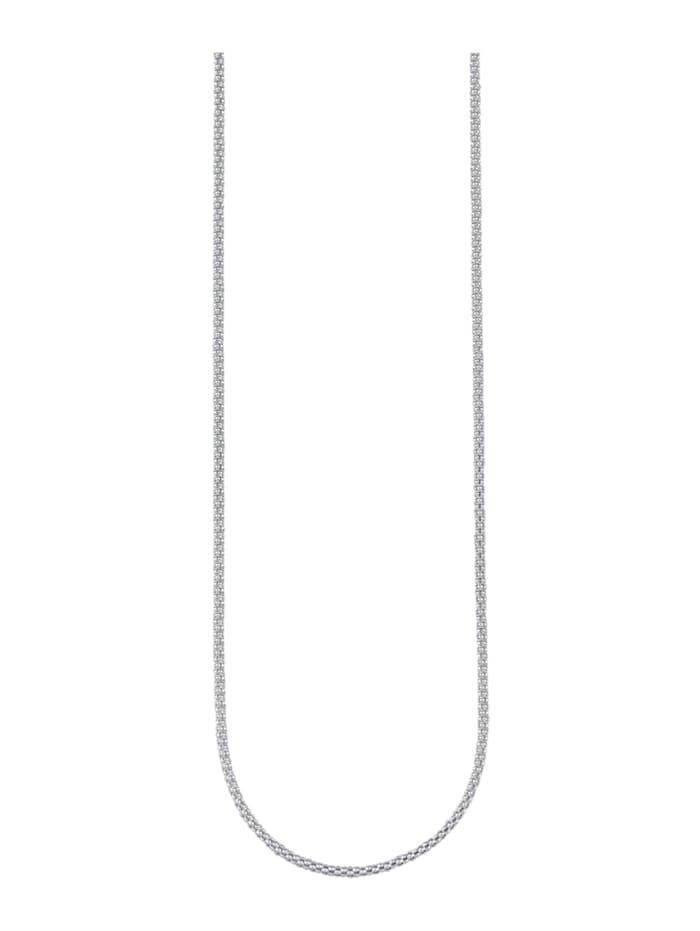 KLiNGEL Koreanerkette Silber 925, Silberfarben