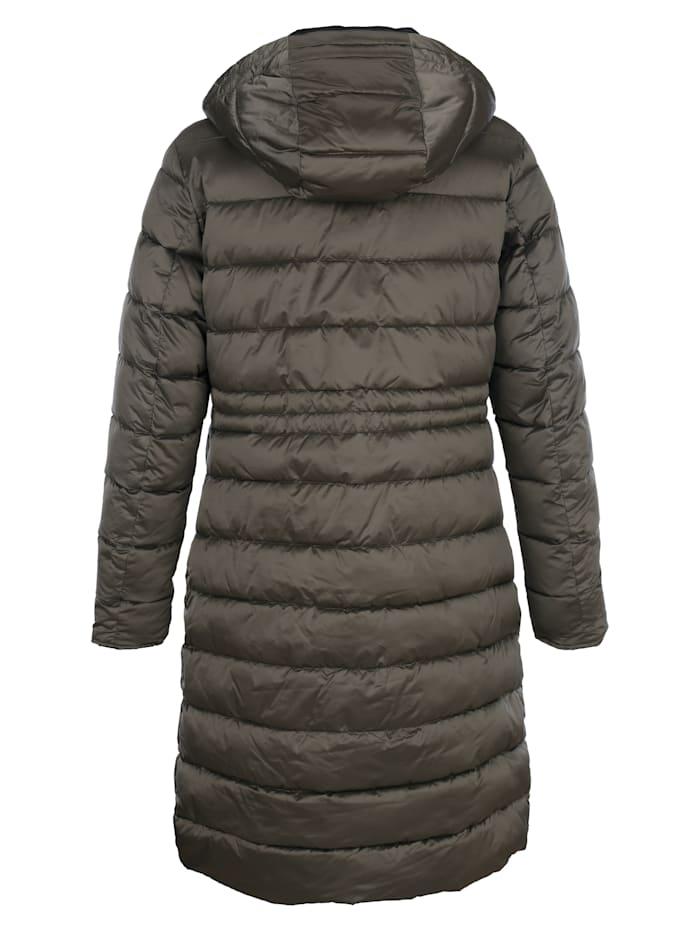 Prešívaná bunda v obojstrannom prevedení