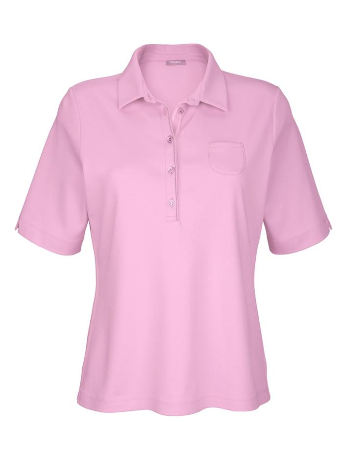 Poloshirt mit Kettenzier