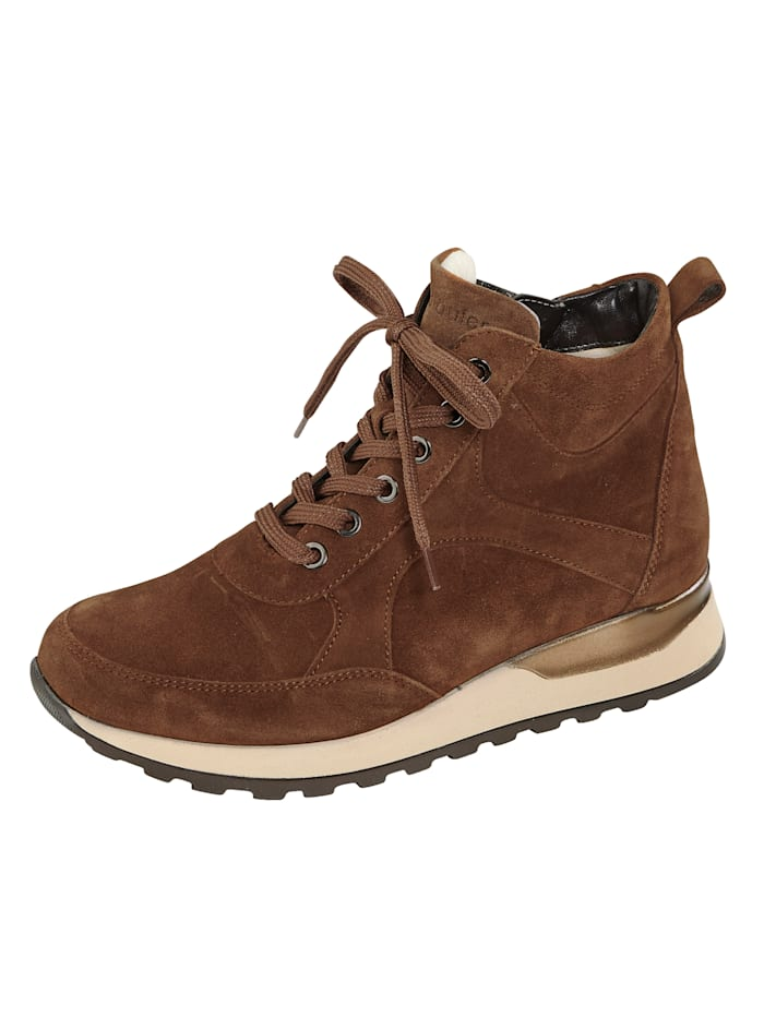 Waldläufer Lace-up ankle boots, Cognac