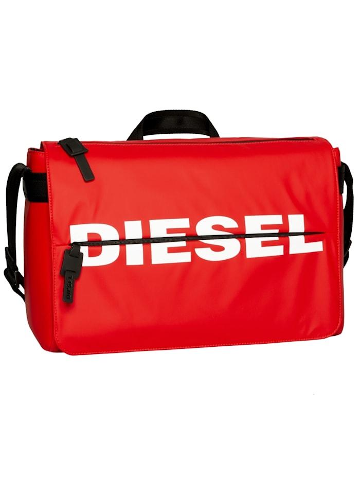 Diesel Umhängetasche F-BOLD MESSENGER II, rot