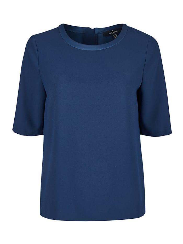 Daniel Hechter Moderne Bluse mit kurzen Ärmeln, midnight blue