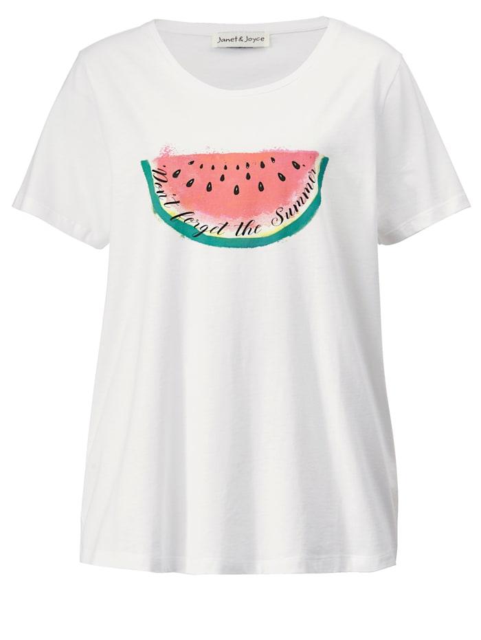 T-shirt à imprimé de melons