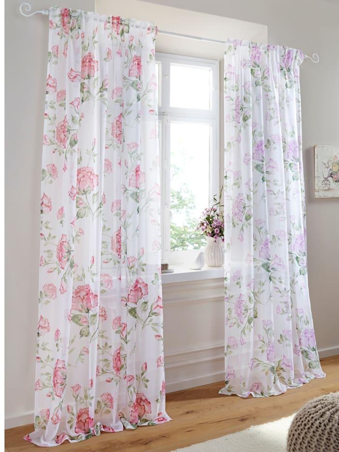 Home Wohnideen Siergordijn Rosi, roze