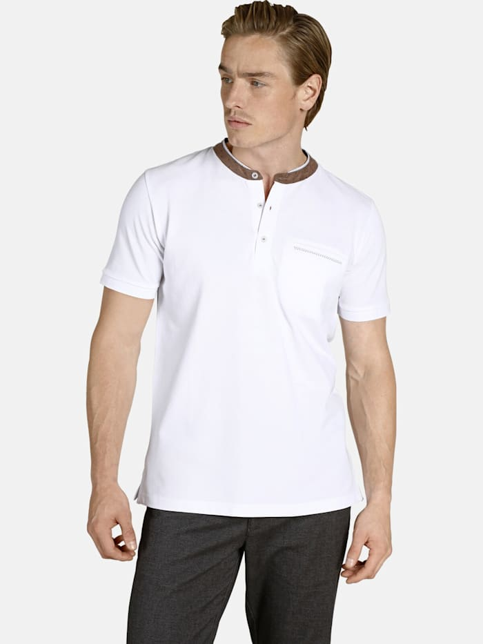 Charles Colby Charles Colby T-Shirt DUKE QUENTIN, weiß