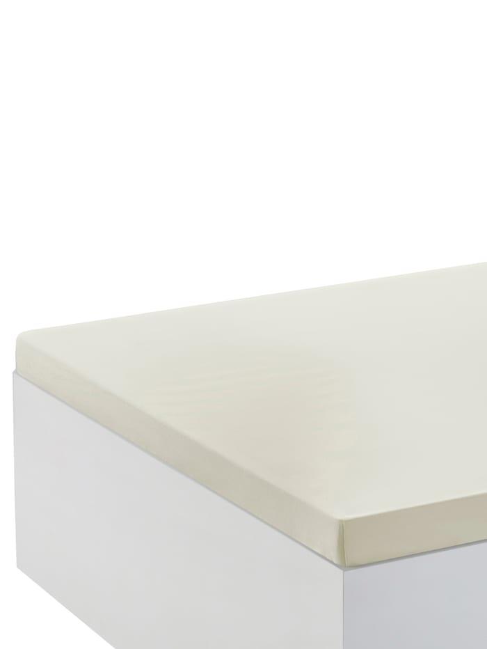 Webschatz Hoeslaken voor matrastopper, ecru