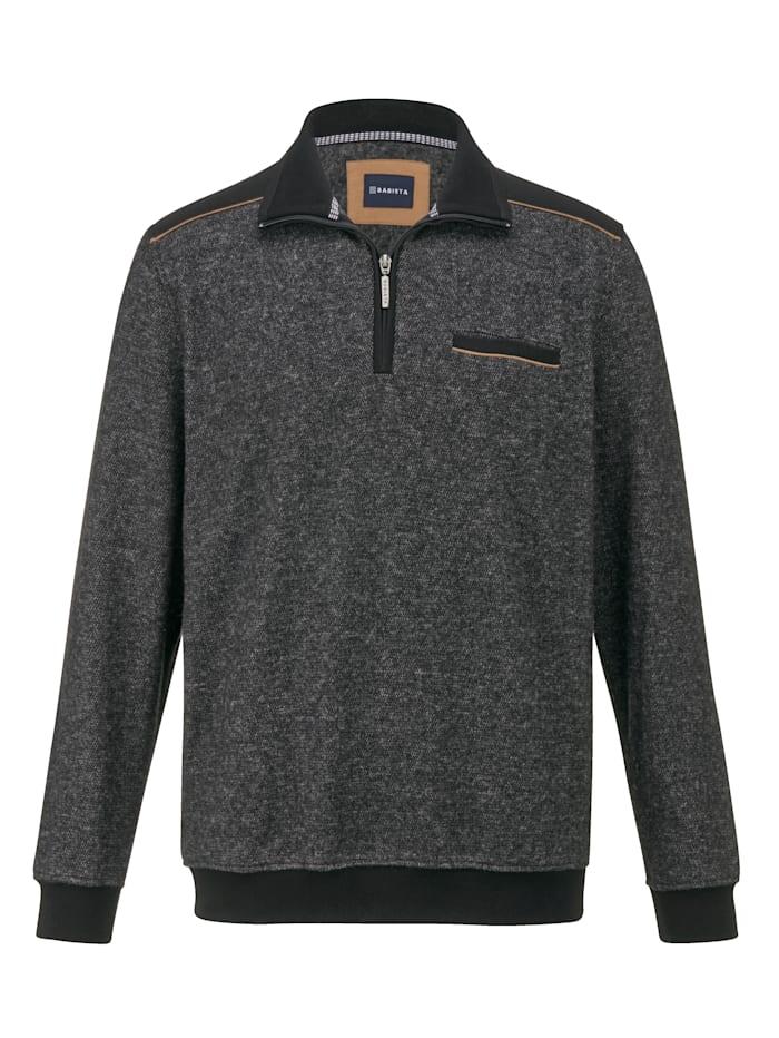 BABISTA Sweatshirt van zacht & warm materiaal, Antraciet