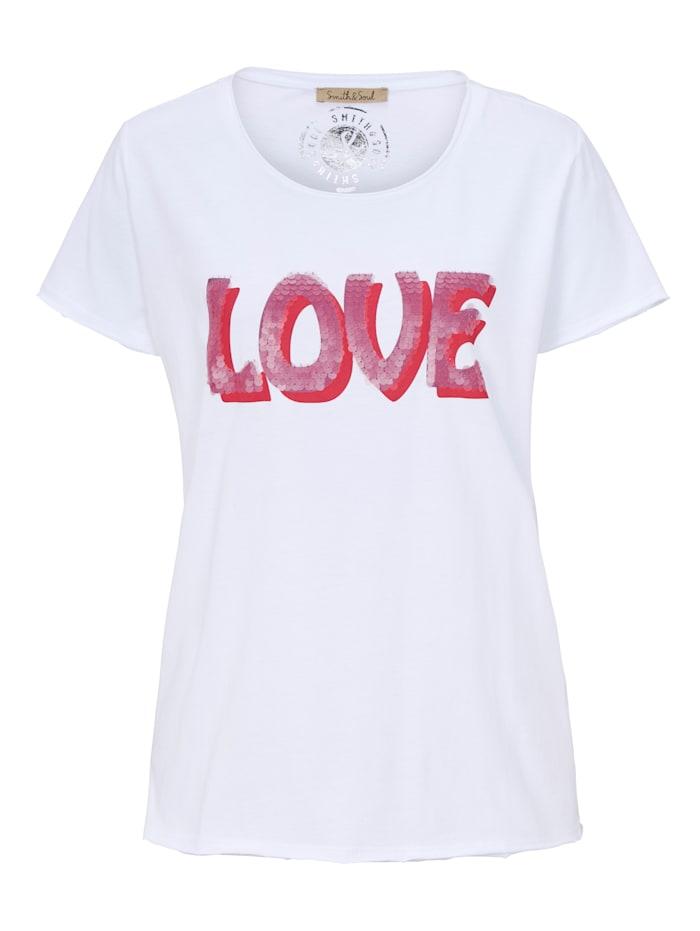 Smith & Soul T-Shirt, Weiß