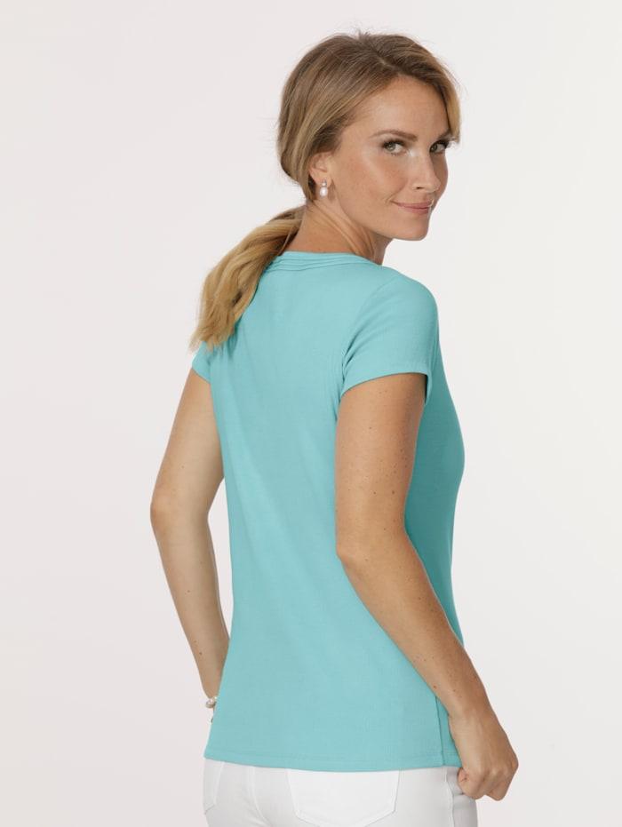 Shirt in feiner Rippen-Qualität