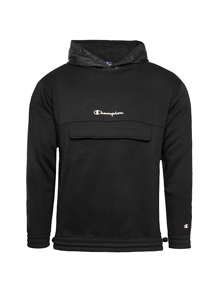 Champion Kapuzenpullover Hooded, schwarz