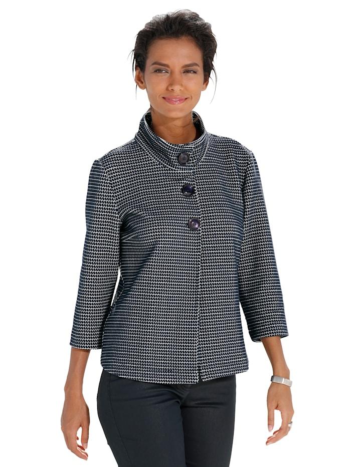 Betty Barclay Shirtjacke mit strukturierter Haptik, Dunkelblau