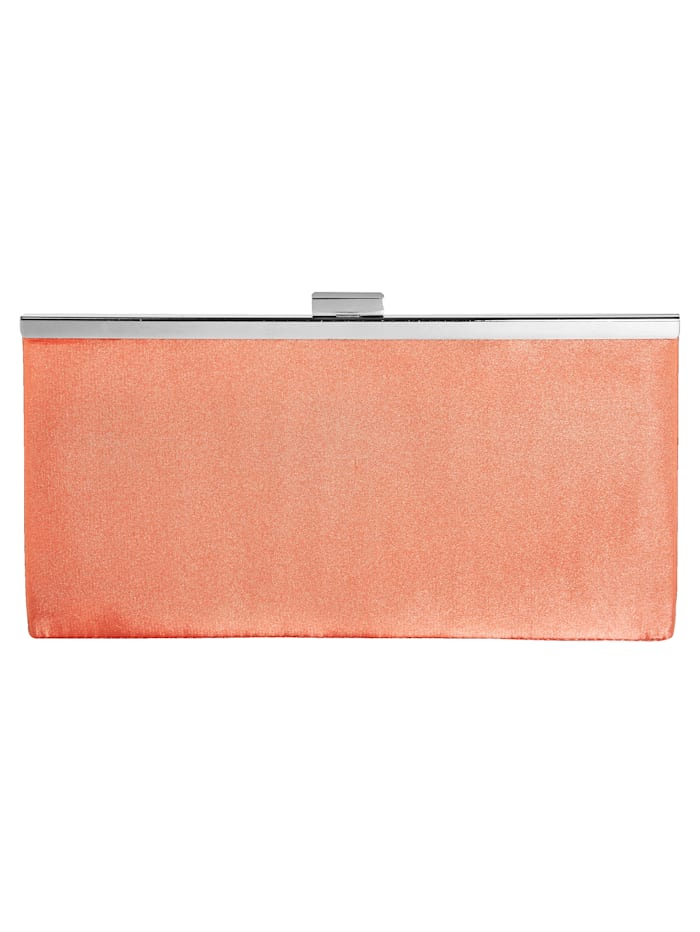 Evening bag with high-quality inserts